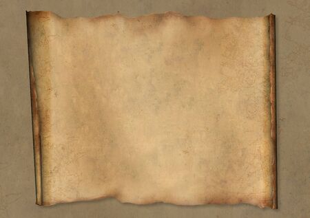 fragmentary: Background - a piece of old, fragmentary parchment
