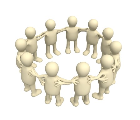 Conceptual image - unity photo