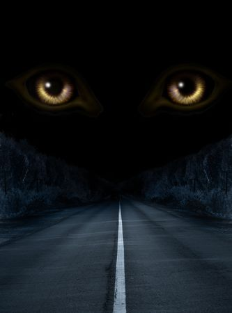 wilkołak: Dark serii - horror w nocy