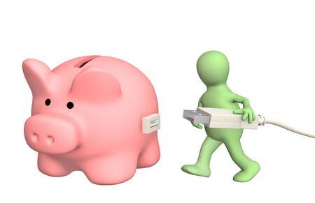 cuenta bancaria: Imagen conceptual - electr�nica de cuenta bancaria