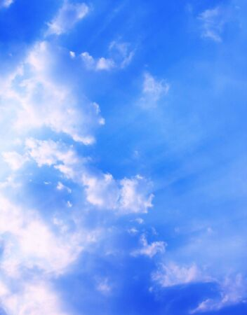 White clouds in the blue sky Stock Photo - 4771937