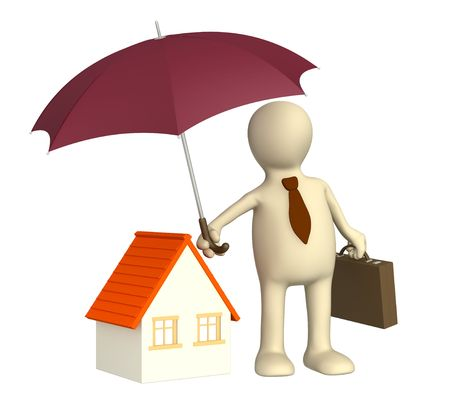accident rate: Concepto - seguro de hogar. Objeto m�s blanco