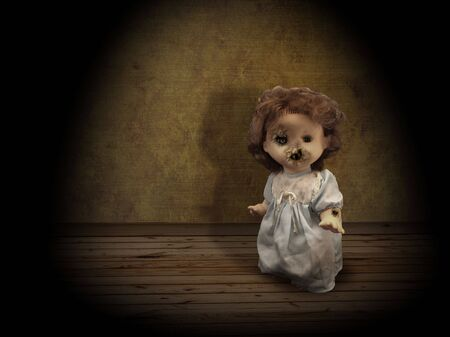 olden: Dark series - vintage evil spooky doll