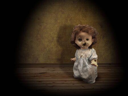 possessed: Dark series - vintage evil spooky doll