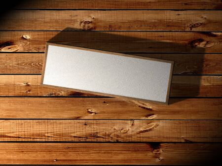 Grunge background with box - retro style collage  photo