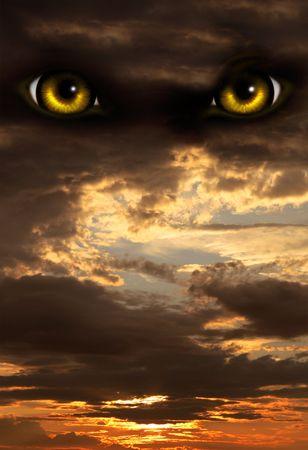 lupo mannaro: Serie scuro - orrore nella notte  Archivio Fotografico