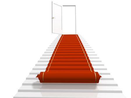 primer lugar: Imagen conceptual - el camino hacia el �xito
