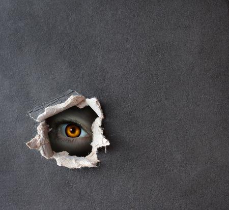 globo ocular: S�rie escura - um olhar da escurid�o