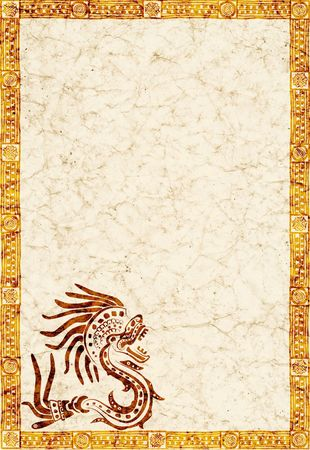 Background with American Indian national patterns photo