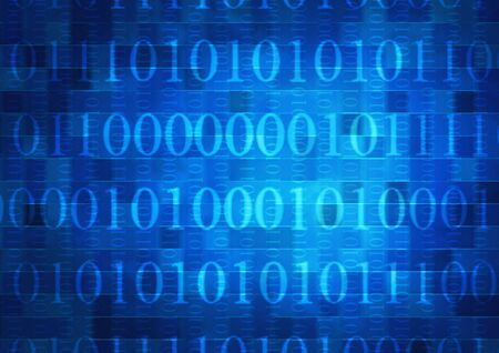 Internet concept -  background with binary code Stock Photo - 6237633