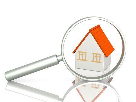 housing search: Immagine concettuale - ricerca di casa