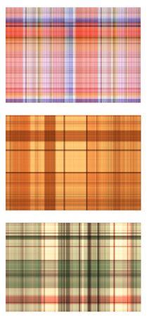 motley: Set - seamless textures of a motley fabric Stock Photo