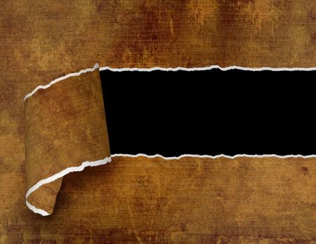 fragmentary: Grunge background - hole with the damaged edges Stock Photo