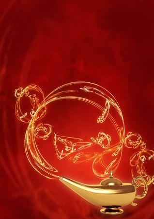 aladdin: Symbol performance of desires - magic lamp