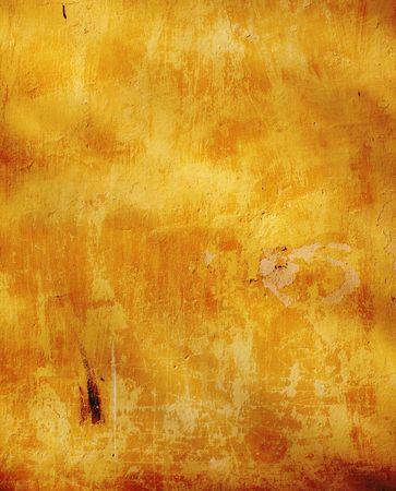 Fondo de grunge - estuco de textura de color ocre  Foto de archivo - 6651618