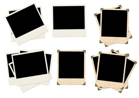 Photos - objects isolated over white photo
