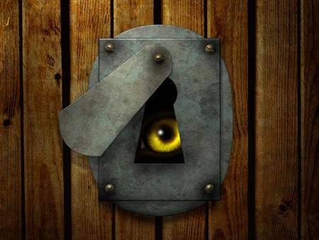 eyes closing: Dark series - a look from darkness