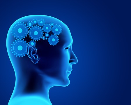Conceptual image - thought process. 3d Stock Photo - 7045601