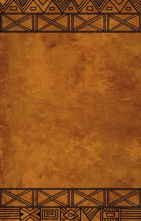 Grunge background - african traditional patterns Stock Photo - 7107091