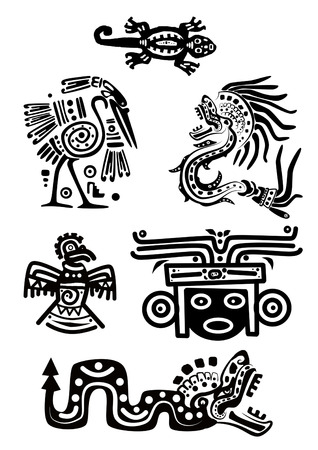 American Indian national patterns Vector