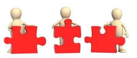 perplexing: Imagen conceptual - �xito del trabajo en equipo