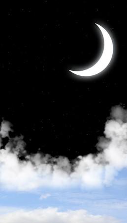 Dark series - day and night Stock Photo - 8141240