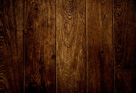 Texture - old wooden boards brown color photo