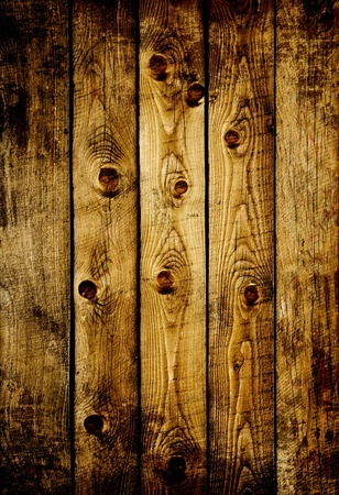 vertical bars: Texture - old wooden boards of brown color Stock Photo