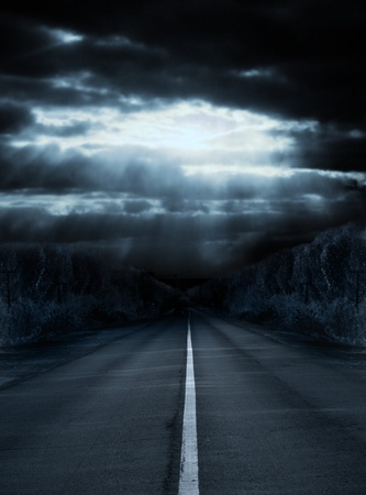 oscuro: Serie oscura - luz en la noche