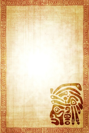 indian mask: Background with American Indian traditional patterns