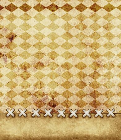 Leather grunge background for scrapbooking photo