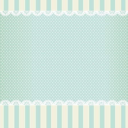 background in style shabby chic Vector