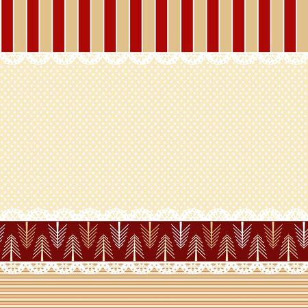 ぼろぼろのシックなスタイルにベクトル クリスマス背景  イラスト・ベクター素材