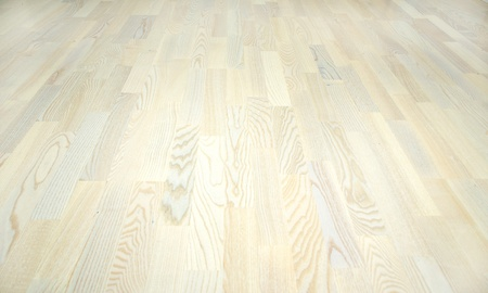 New ash parquet of white color photo