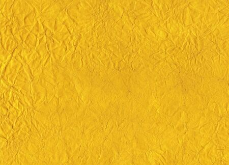 soiled: Background - old paper of yellow color Stock Photo