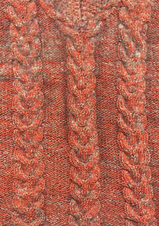 Close-up texture of wool fabric  photo