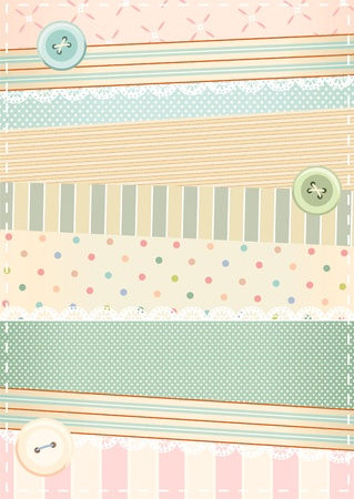 background in shabby chic style  Stock Vector - 13214263