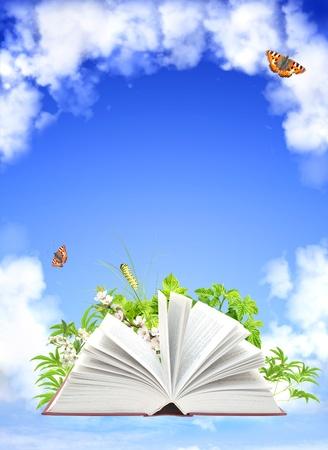 open life: Libro de la naturaleza. El cielo azul