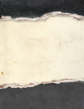 Grunge frame with paper texture Stock Photo