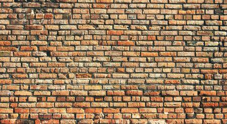 paredes de ladrillos: La textura de la vieja pared de ladrillos