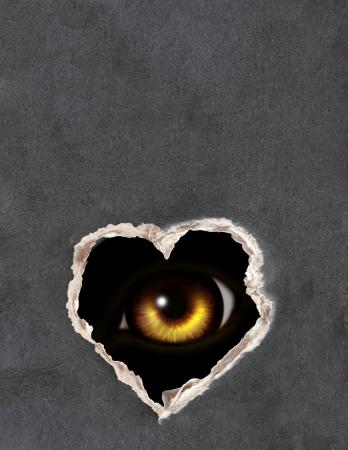 loup garou: Série sombre - un coup d'oeil de l'ombre Banque d'images
