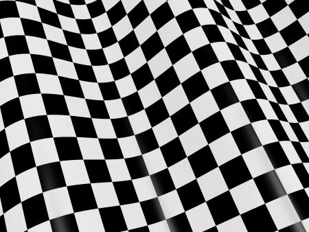 cuadros blanco y negro: Deportes de fondo - bandera a cuadros abstractos