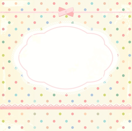 Background in shabby chic style Stock Vector - 15686860