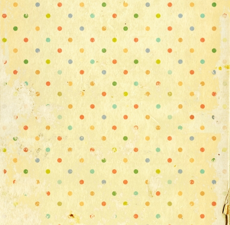 Grunge background with dots pattern and paper texture Stock Photo - 16240900