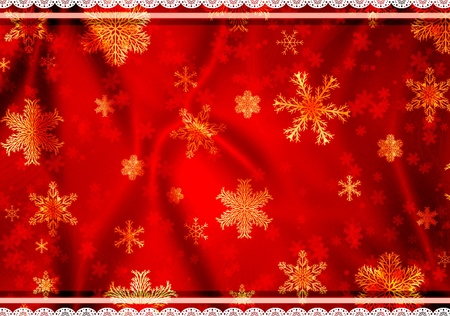 Christmas grunge background in shabby chic style Stock Photo - 16240899