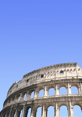 Ancient Colosseum, Rome, Italy Stock Photo - 16332043