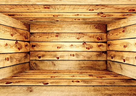 Empty wooden box Stock Photo - 16455558