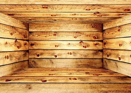 Empty wooden box Stock Photo - 16455558