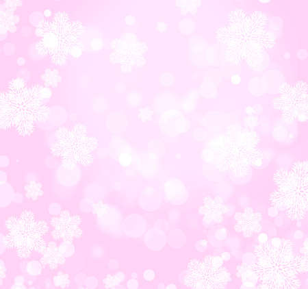Abstract christmas background with snowflake� Stock Photo - 16550225