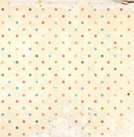 Grunge background with dots pattern and paper texture Stock Photo - 16550233